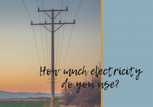 How much electricity do you use_